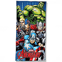 Marvel Avengers 'Force' Printed 100% Cotton Beach Towel