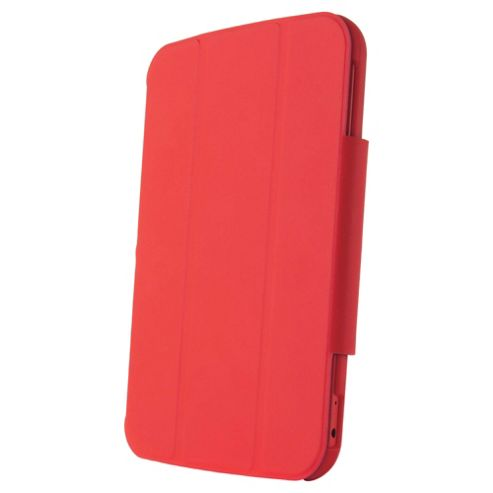 "Hudl 7"" Soft-touch folding case & stand, Red"