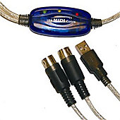 USB to MIDI cable - 1.8m