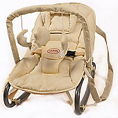 Cute Baby Rocker Bouncer in Cream and Yellow