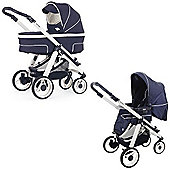 Bebecar Hip Hop Urban Magic White Combi Pram (411)