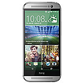 Tesco Mobile HTC One (M8) Glacial Silver