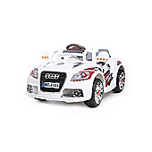 New Coupe Roadster 12V Kids Electric Ride On In White