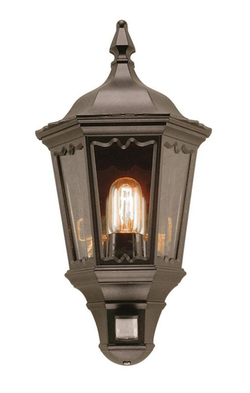 Elstead Lighting Security Outdoor Wall Lantern in Black