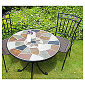 Europa Leisure Pompei Round 2 Seater Bistro Table Set
