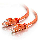 Cables to Go 1m Cat6 550MHz Snagless Patch Cable Orange