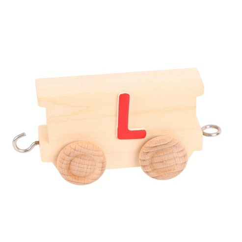 Bigjigs Toys BJ201L Name Train Letter L