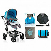 Jane Rider Pushchair (Aqua)