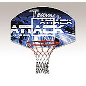 Sure Shot Team Attack basketball backboard and ring