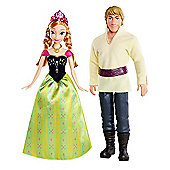 Disney Frozen Anna and Kristoff Doll (Pack of 2)