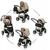 Hauck Lacrosse All In One + Buggy Lights Travel System - Rock Black