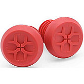 Duo BMX/Scooter Custom Bar End Plugs - Red