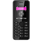 Nokia 108 Mobile Phone (Black)