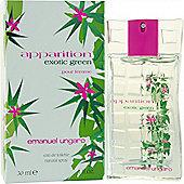 Ungaro Apparition Exotic Green Eau de Toilette (EDT) 30ml Spray For Women