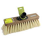 "National Trust 12"" Natural Fibre Soft Broom Head"