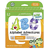 LeapFrog LeapStart Preschool: Level 1 Alphabet Adventures Activity Book