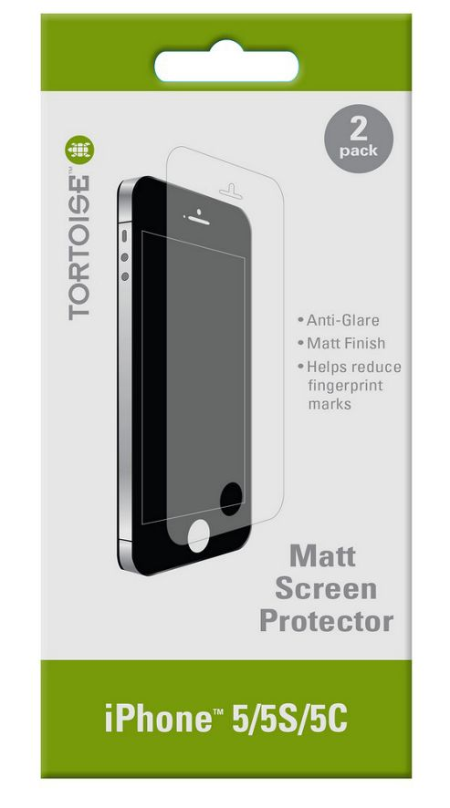 Tortoise™ Screen Protector, for iPhone 5, 5C & 5S Clear.