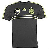 2014-15 Spain Adidas Away Replica Shirt - Black