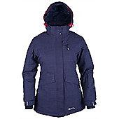 Brevis Womens Ski Jacket - Blue