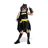 Rubies Fancy Dress - Child Batgirl Costume - UK Size Medium 5-7 Years