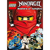 Lego Ninjago Masters of Spinjitzu DVD