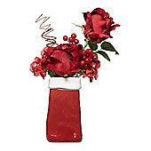 Linea Christmas Rose Arrangement Large