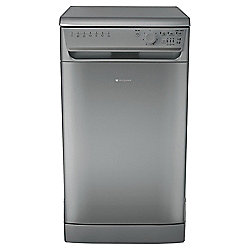 Hotpoint Slimline Dishwasher, SIAL11010G, Graphite