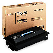 Kyocera TK-70 Black (High Capacity Yield 40,000 Pages) Toner Cartridge for FS-9100/FS-9500 Printers