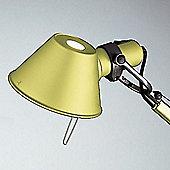 Artemide Tolomeo micro table lamp - 1x60W halogen (E 14) - Anodized Yellow