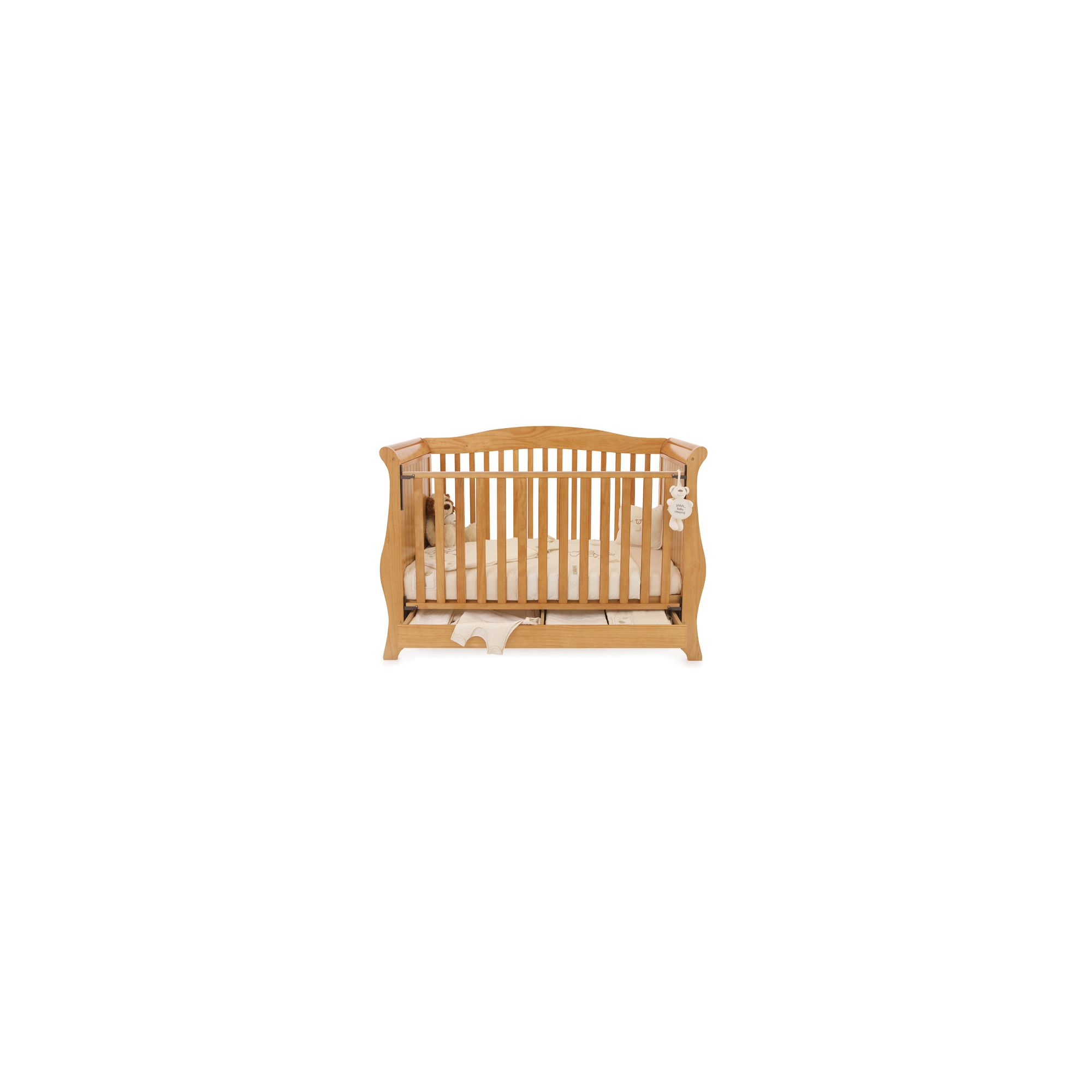 Babystyle Hollie Sleigh Bed in Country Pine at Tesco Direct
