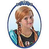 Child Disney Frozen Anna Wig