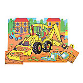 Bigjigs Toys BJ725 Tray Puzzle Digger