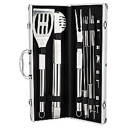 Masterchef Stainless Steel BBQ Tool Set in Aluminium Case