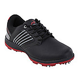 Woodworm Player 2.0 Golf Leather Shoes - Black