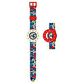 ZEON Ltd Fireman Sam Time Teacher Watch