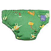 Bambino Mio Swim Nappy (Medium Green Dino 7-9kg)