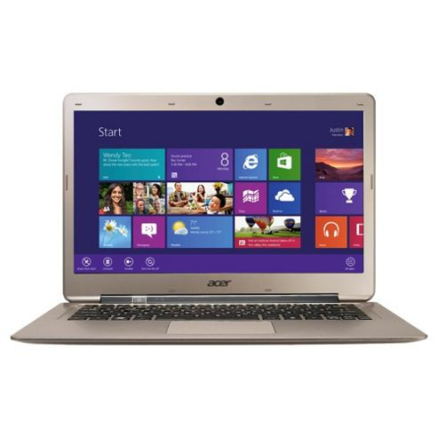 Acer Aspire S3-951 13.3-inch laptop, Intel Core i5, 4GB RAM, 128GB SSD, Windows 8