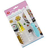 Kids Icing Bottle  Spatula Set