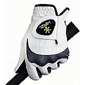 Hirzl Mens Hybrid Golf Glove - White