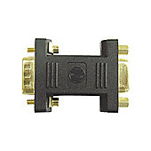 VGA Male To Female PC Monitor Gender Changer Adapter