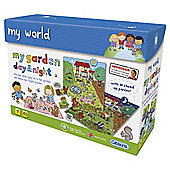 My Garden DayNight jigsaw Age 4+