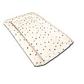 Babywise Baby Changing Mat - Coffee & Cream Spots