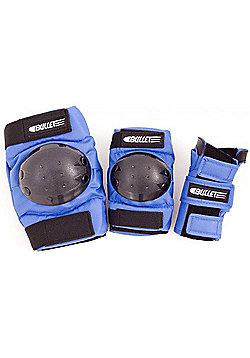 Bullet Combo Standard Junior Padset - Blue