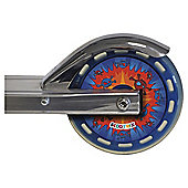 Scootrix Scooter Wheel Stickers, Blue/Red Theme