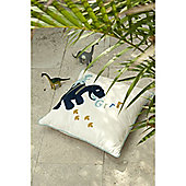 Catherine Lansfield Home Kids Dino Cushion Cover Multi