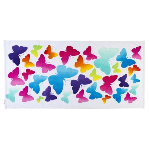 Tesco Butterfly Beach Towel