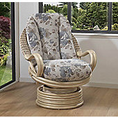 Desser Clifton Swivel Rocker Chair & Lambada Cushions