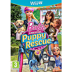 Barbie & Her Sisters: Puppy Rescue Wii U