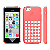 Apple Silicone Case for iPhone 5C (Pink)