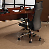 Floortex Cleartex Ultimat Polycarbonate Chair Mat for Use on Low To Medium Pile Carpets - 99cm x 125cm